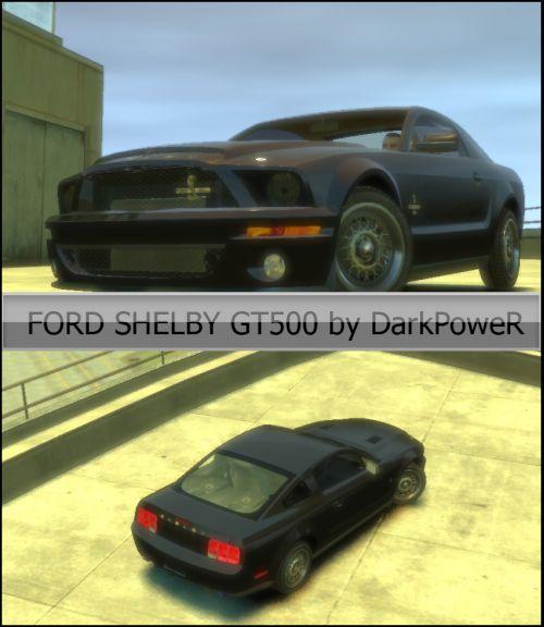 GTA 4 FORDSHELBY GT500 - Транспорт - Оружие, одежда, патчи, доп